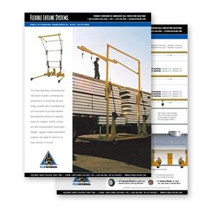 freestanding horizontal rail cutsheet