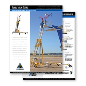 freestanding mobile access platforms