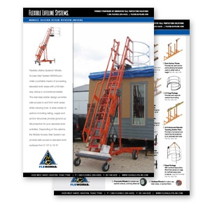 mobile access stair system