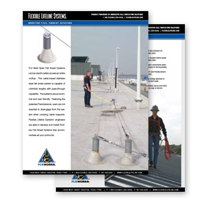 roof fall arrest systems