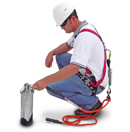 new building construction fall protection system