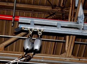 rigid rail fall protection