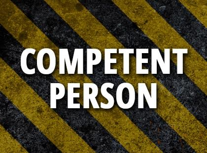 competent person training