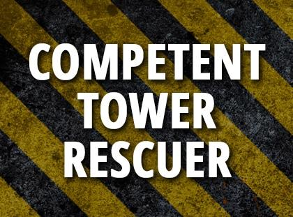 competent tower rescuer
