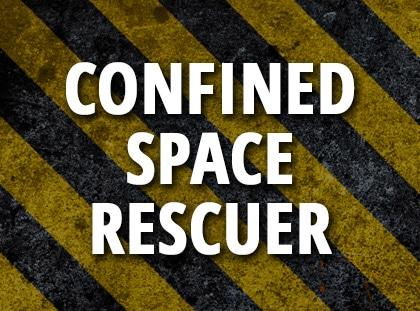 confined space rescuer