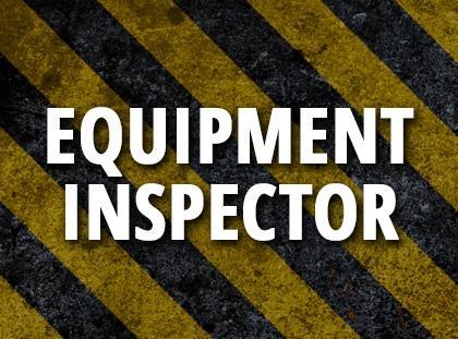 equipment inspector