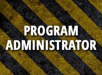 program administrator
