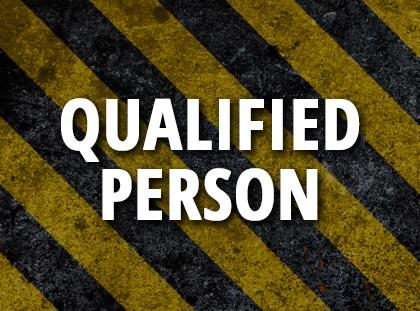 qualified person