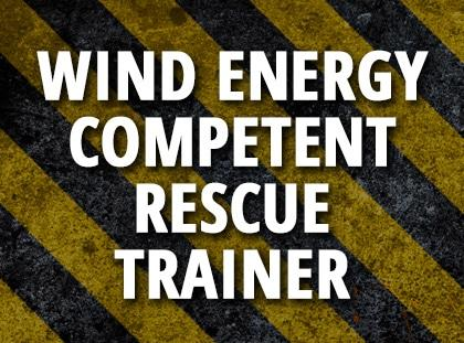 wind energy competent rescuer trainer