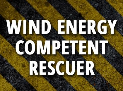 wind energy competent rescuer