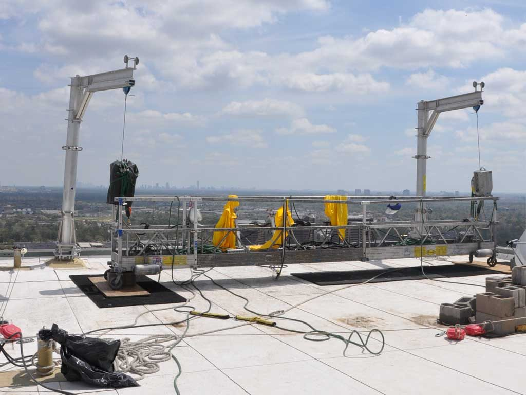 Socket Amp Davit Systems For Building Facade Maintenance