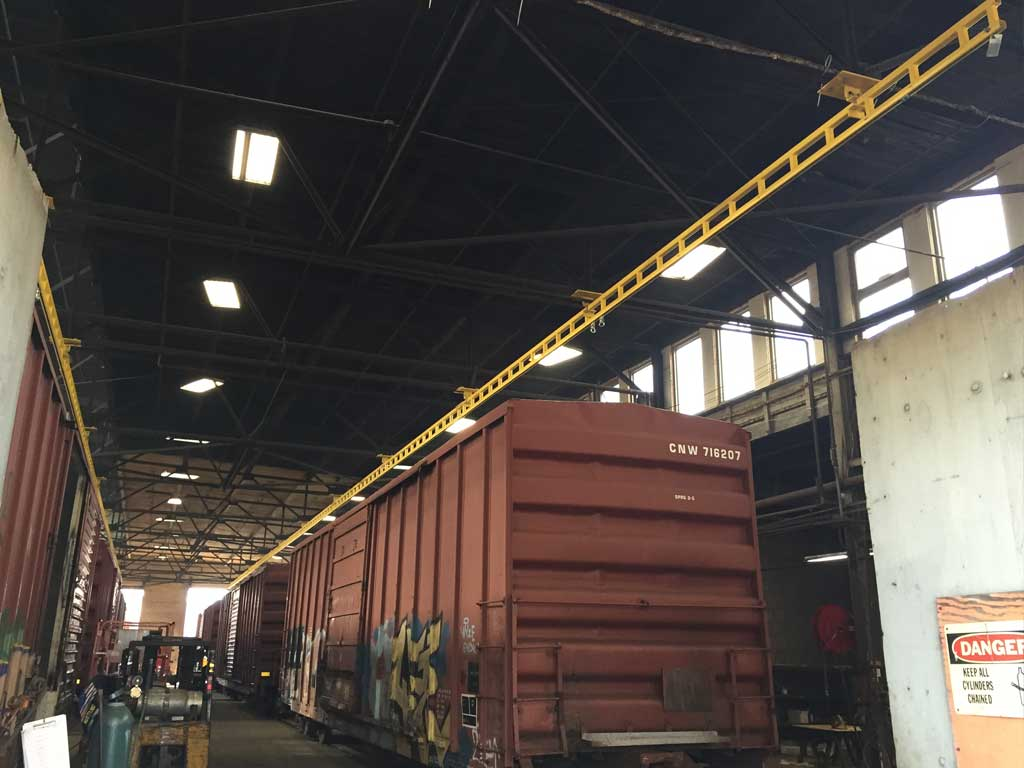 Flexrail Railcar Truck Flexible Lifeline Systems