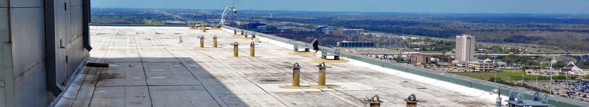 fall protection systems for building exterior maintenance