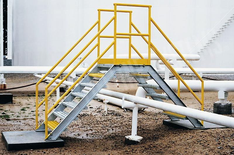 Fall Protection For Pipe Racks Fall Arrest Com