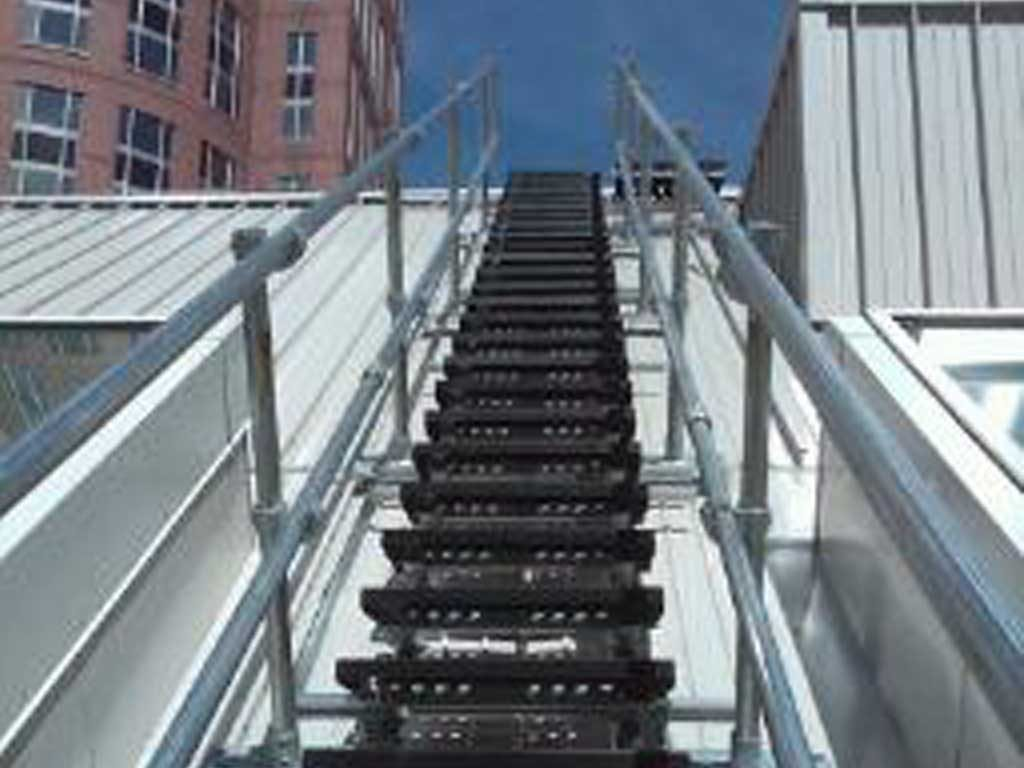 Roof Walkway Systems Freestanding Handrail Systems