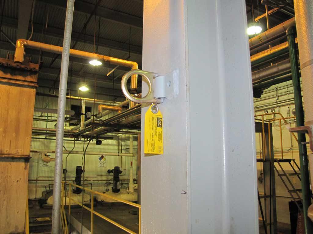 Single Point Fall Protection Anchors Flexible Lifeline