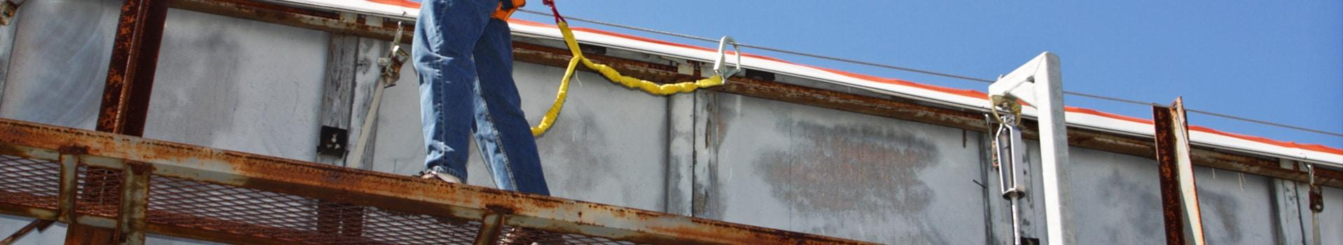billboard fall protection systems