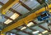 overhead crane fall arrest system