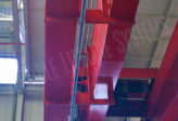 overhead crane fall safety system