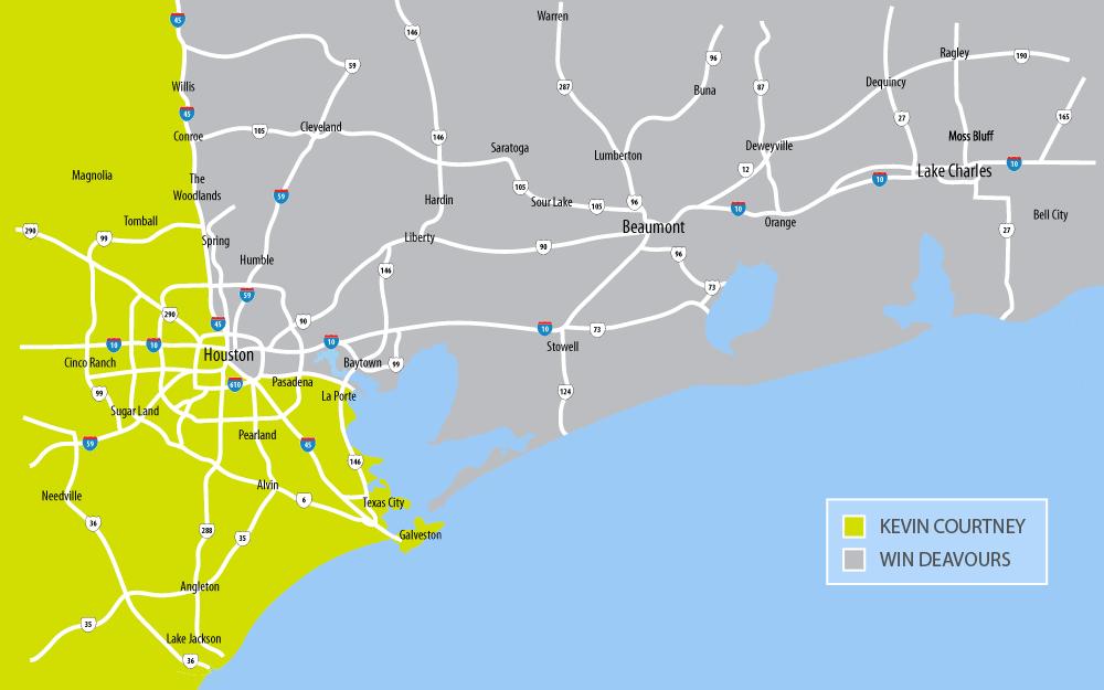houston territories