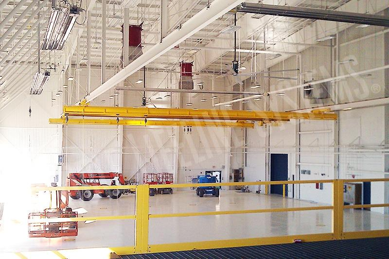 Overhead Bridge Fall Protection For Aircrafts Fall