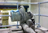 fall protection for motor maintenance