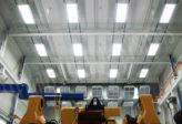 overhead lifelines over mechanical equipment