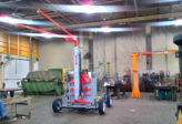 mobile overhead anchor system