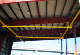 overhead rail for manufacturing plants