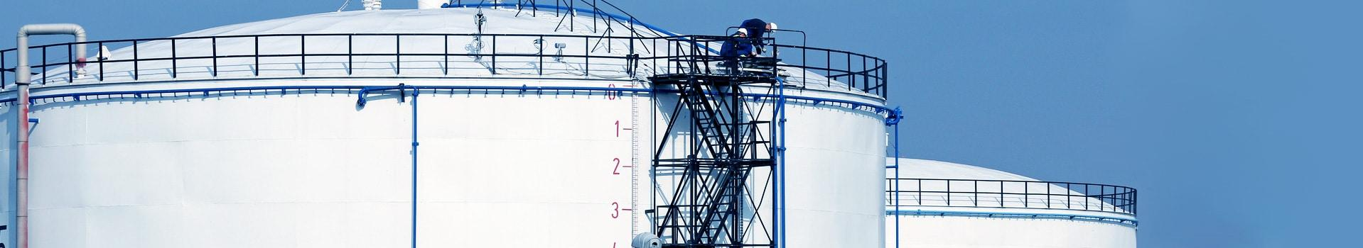 fall protection for storage tanks