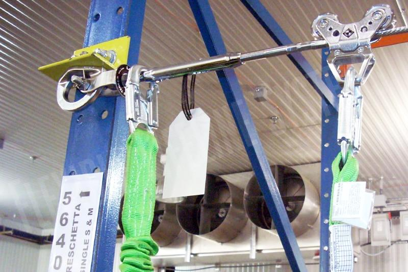 Fall Protection For Distribution Centers Fall Arrest Com