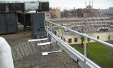 fall protection on a flat roof