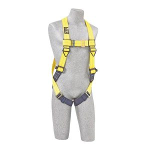 vest style harness with pass thru straps