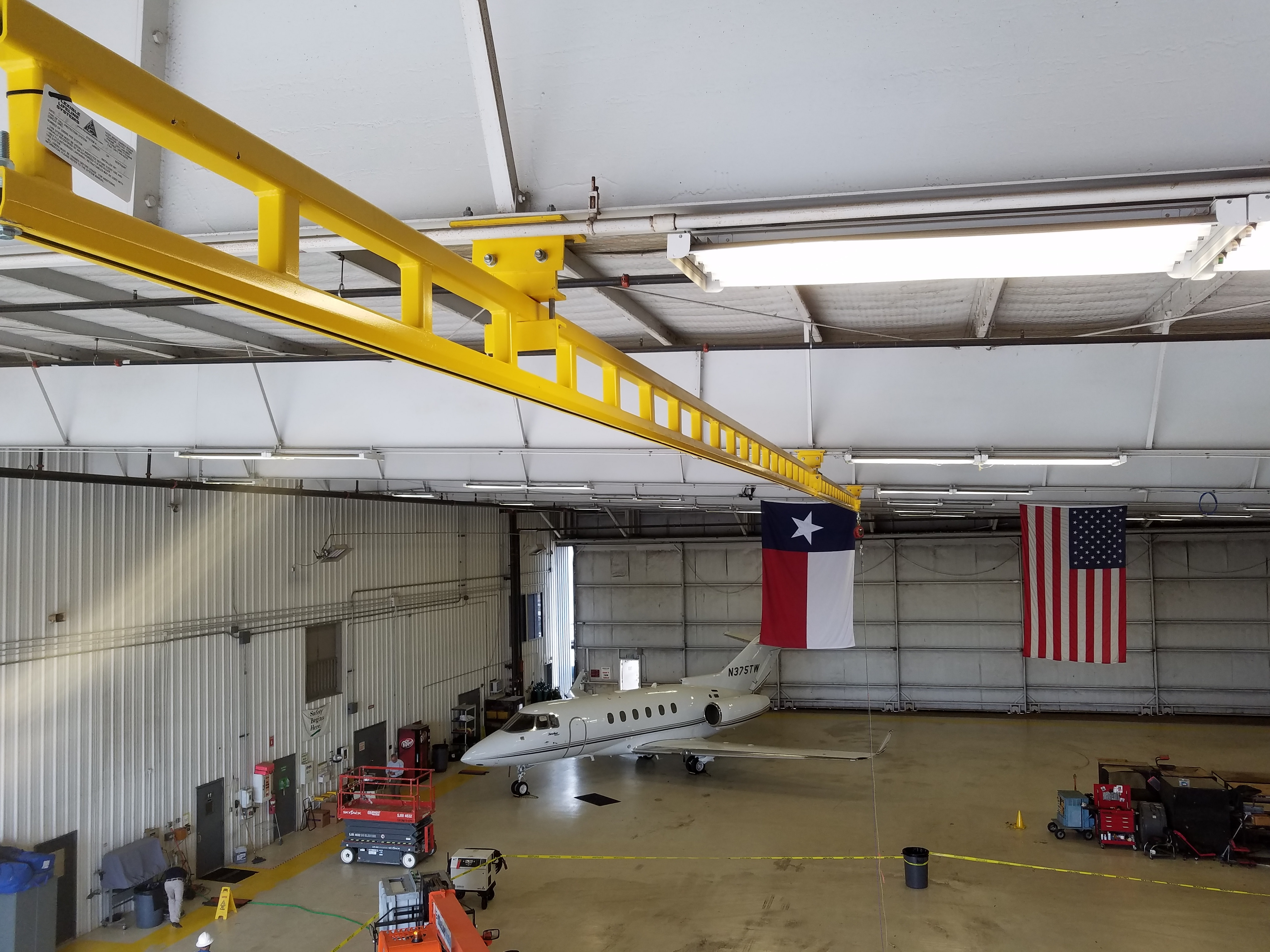 Aircraft Fall Protection Systems - Flexible Lifeline Systems