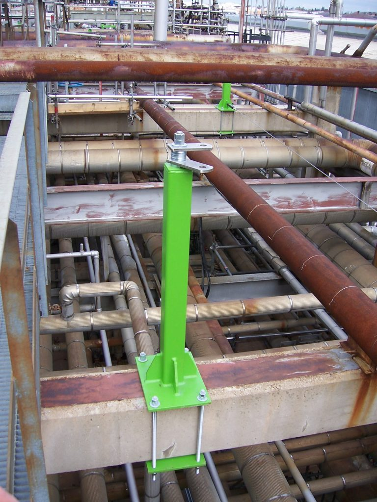 carbis pipe rack racks protection product fall solutions