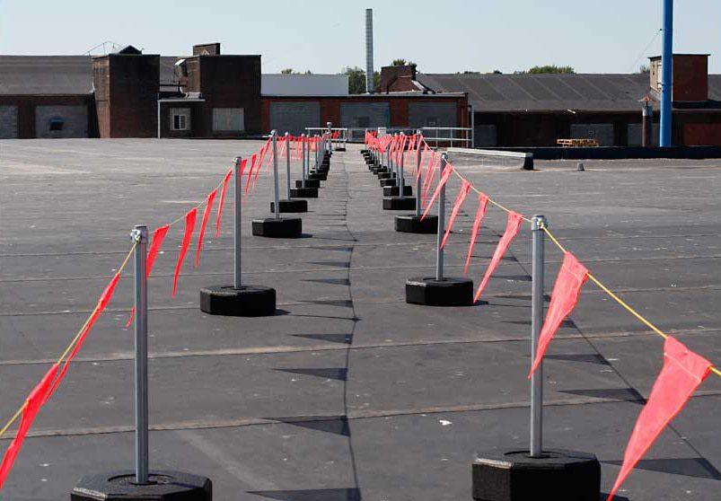 Warning Line System Flexible Lifeline Systems