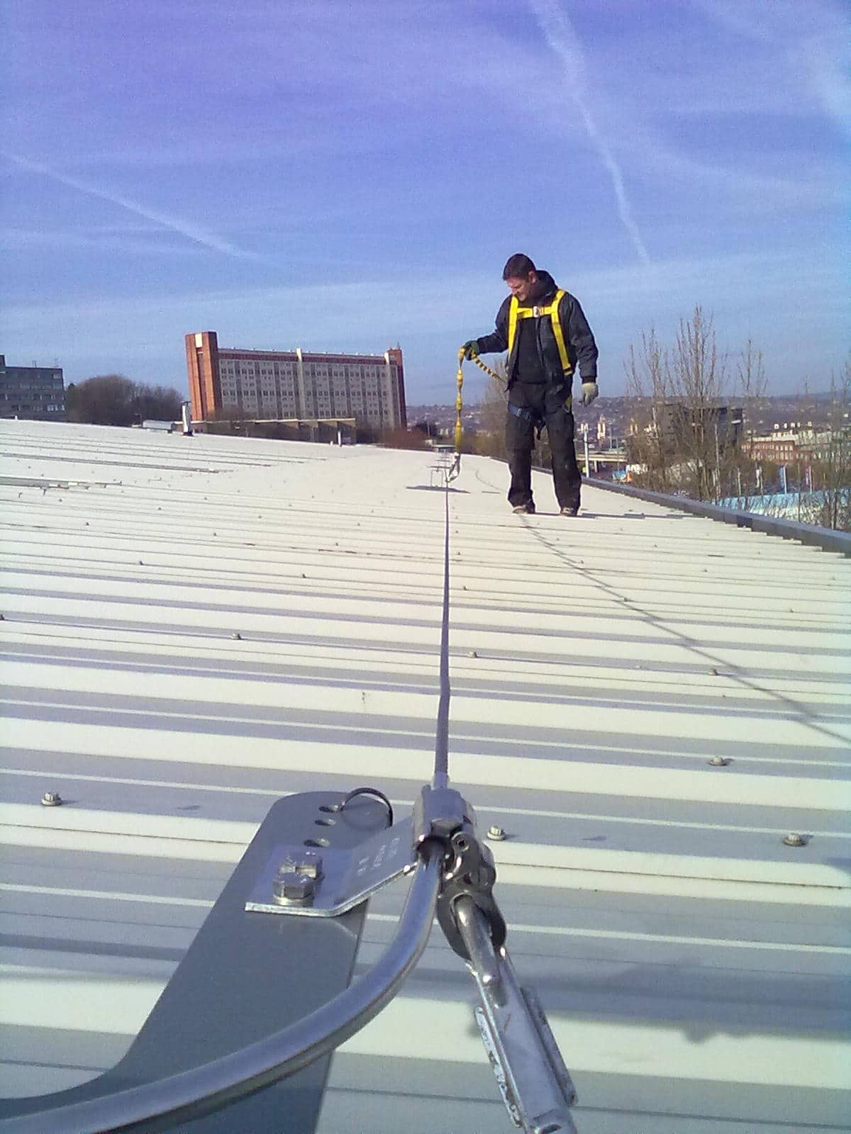 Roof Fall Protection Systems Rooftop Fall Arrest