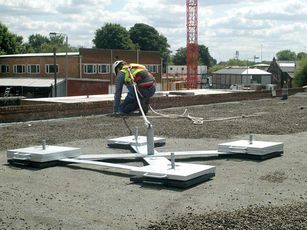 Portable Fall Protection Anchors Temporary Roof Anchors