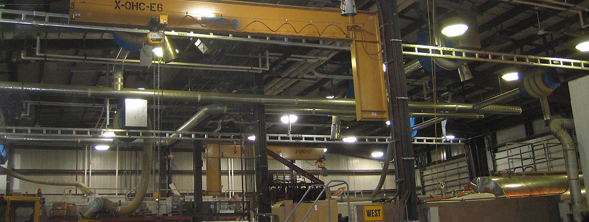 Flexrail Rigid Rail Fall Protection For Industrial