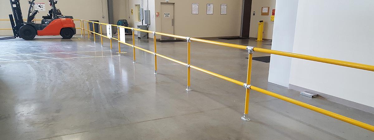 Roof Guardrail Systems Freestanding Guardrails Flexible