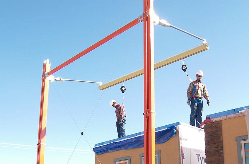 Mobile Fall Protection Flexible Lifeline Systems