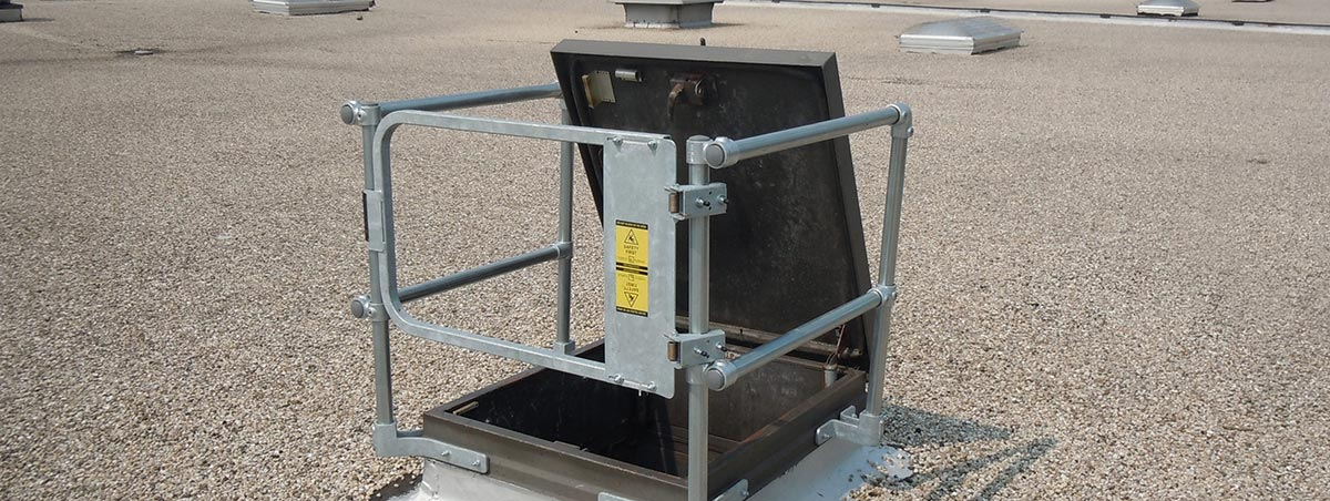 Rooftop Hatch Kits Free Standing Osha Compliant
