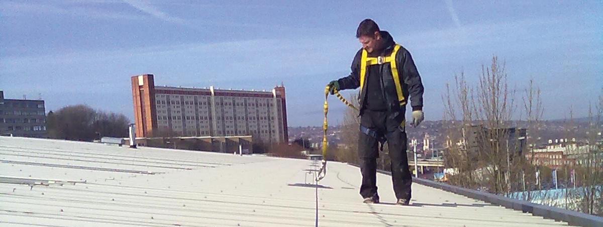 Roof Lifeline Systems Amp Fall Protection Anchors Flexible