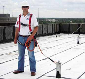 Tieback Anchors Flexible Lifeline Systems