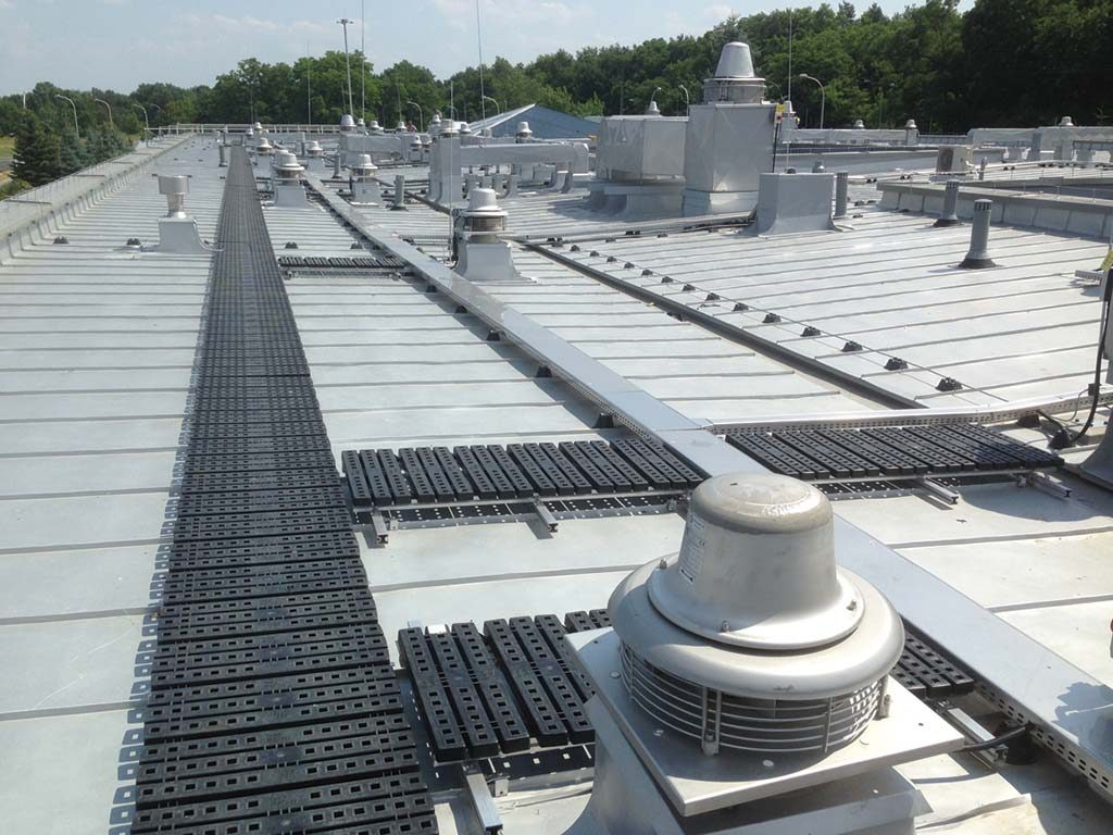Roof Walkway Systems Walkway With Handrail System