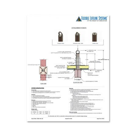 Through Bolt Technical Spec Sheet