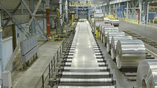 Fall Safety for Aluminum Recycling