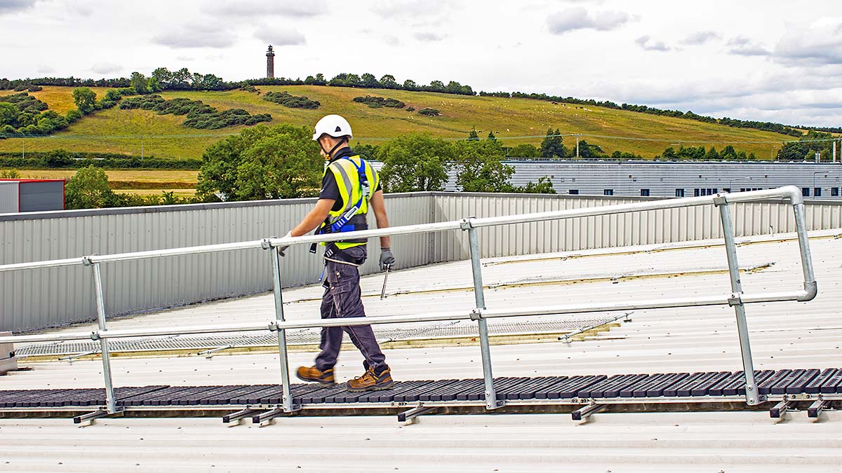 Flexwalk with Guardrail