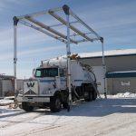 Mobile Rigid Rail Overhead Fall Protection for Tanker Truck
