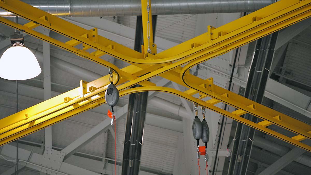 Rigid Rail Fall Protection